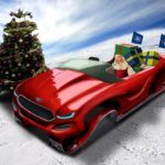 Did Ford Evos Concept Replace Santa Claus' Sleigh in 2011?
