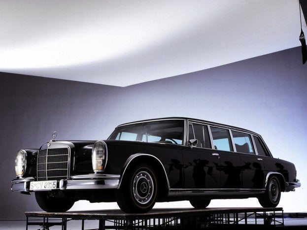 Mercedes Benz 600 Pullman Limousine 1964 1280x960 wallpaper 01