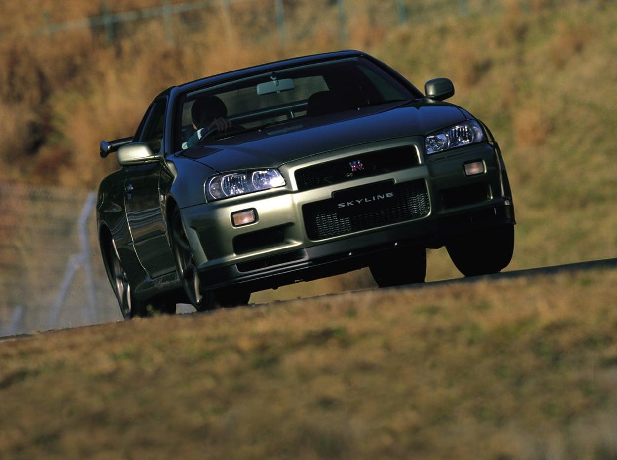 Nissan Skyline GT R V