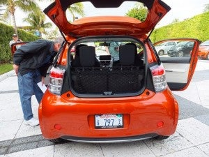Scion iQ rear