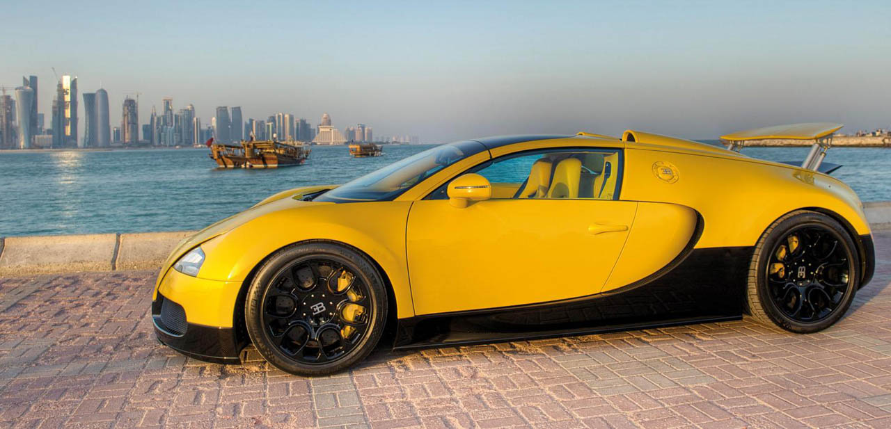 Too Much Bugatti Introduces Special Edition Veyron In Qatar