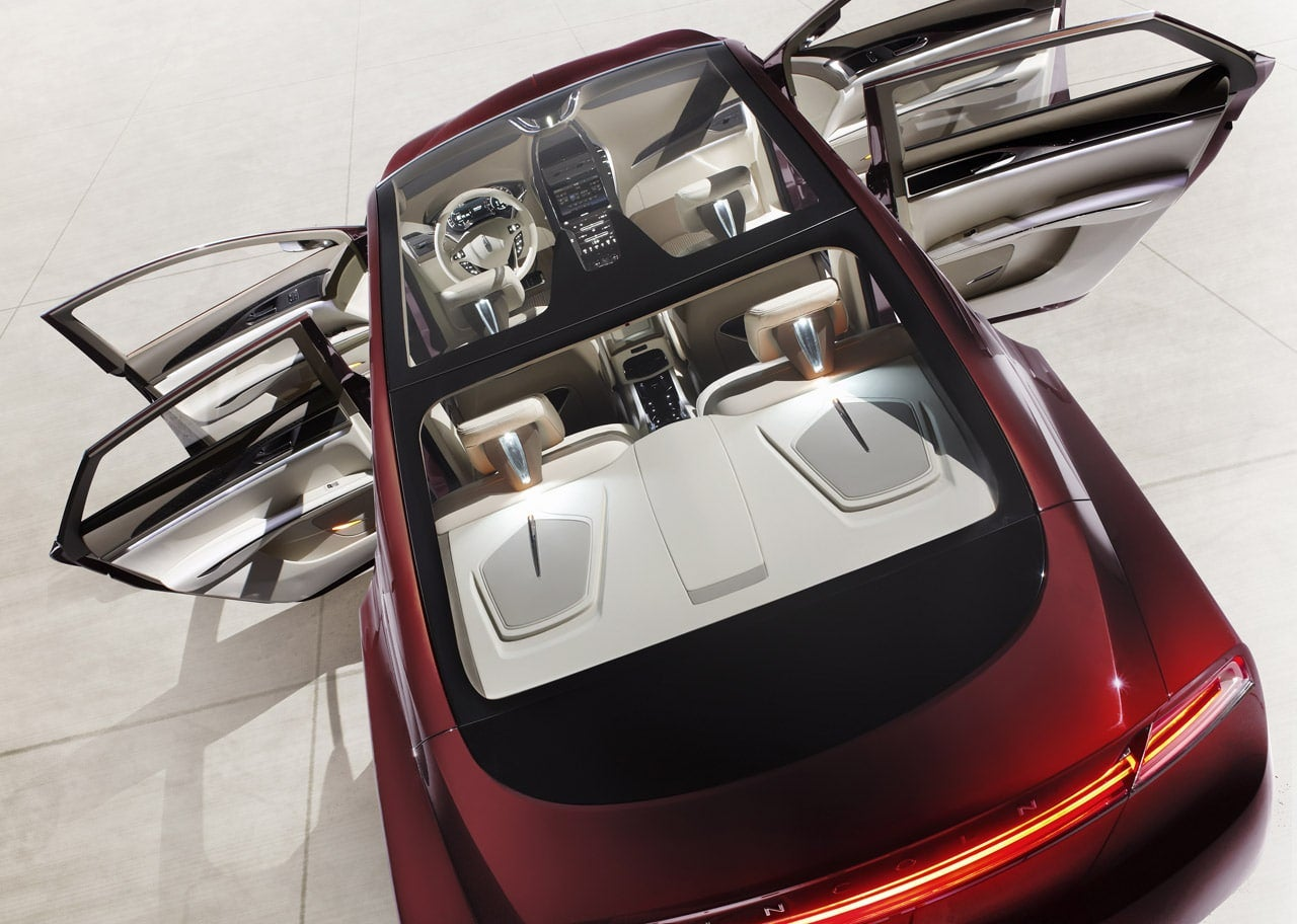 Detroit 2013 Lincoln Mkz Concept Aims To Relaunch Lincoln