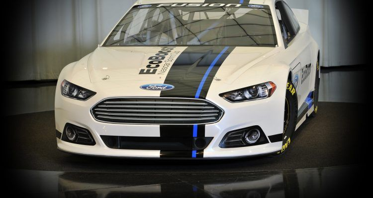 2013 Ford Fusion Nascar Sprint Cup Car Makes Debut In Charlotte