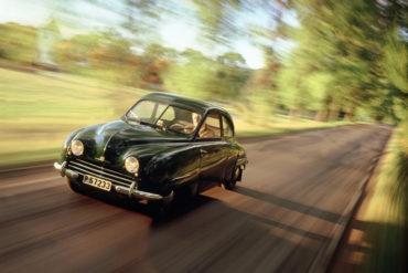 1949 1956 Saab 92 1950 Saab Calendar 1997 1280x960