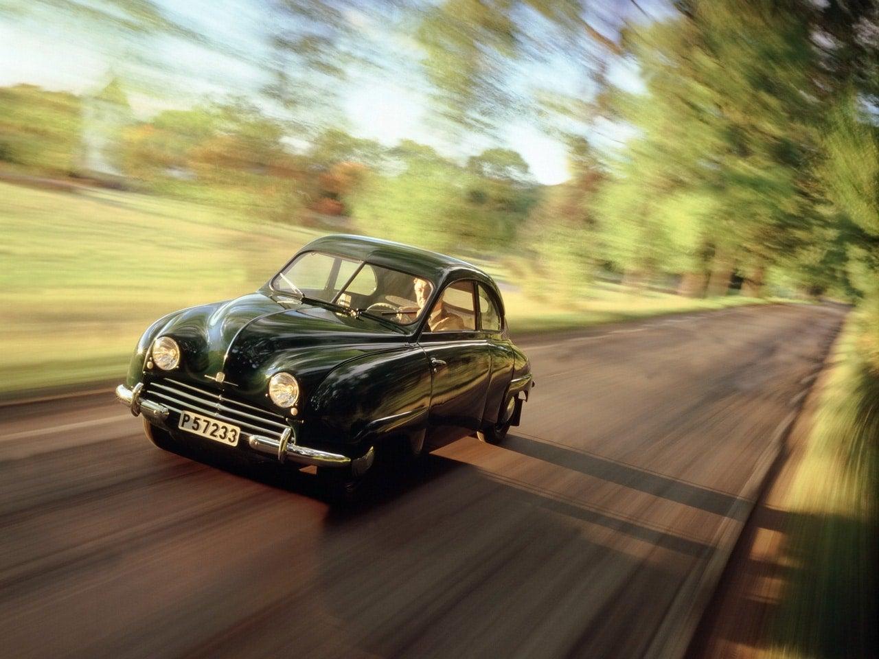 1949 1956 Saab 92 1950 Saab Calendar 1997