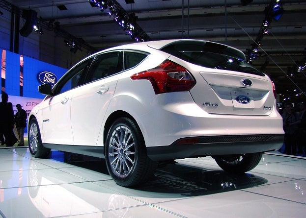 2011 Canadian International Auto Show ford focus electric
