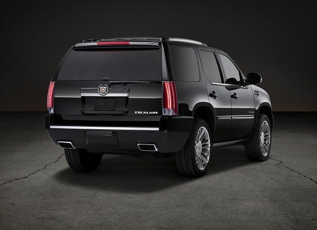 Cadillac Escalade Escalates Security Array for 2012