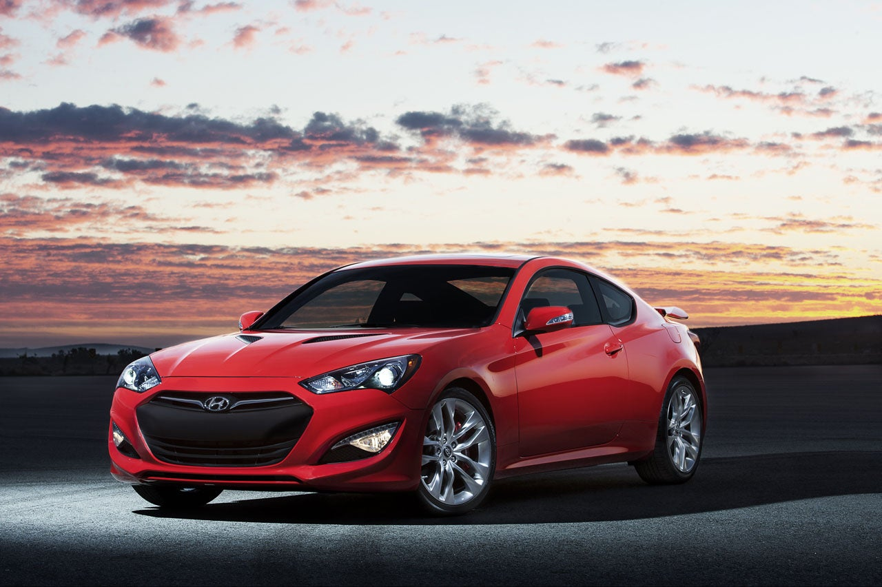 Detroit: Hyundai Genesis Coupe Adds Serious Power