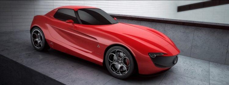 Alfa-Romeo-Giulia rendering