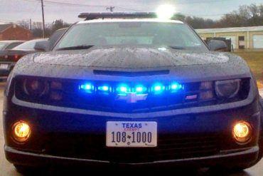 Camaro Police Car