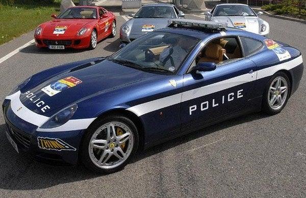 Ferrari 612 Police Car