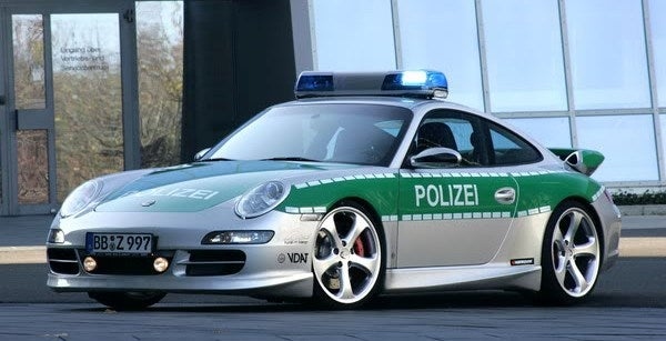 Germany Porsche 911 Carrera S Police Car