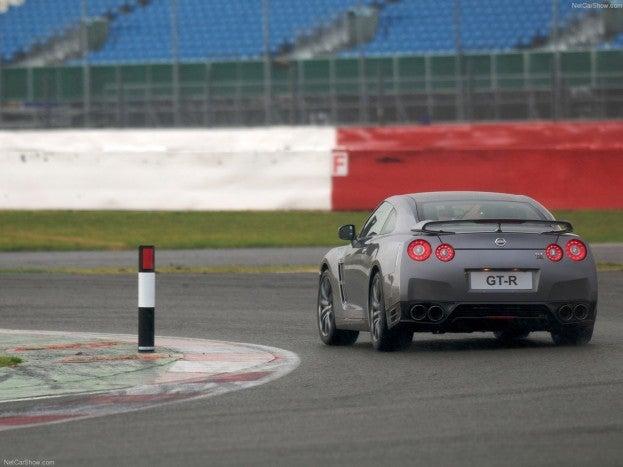 2012 Nissan GT-R rear