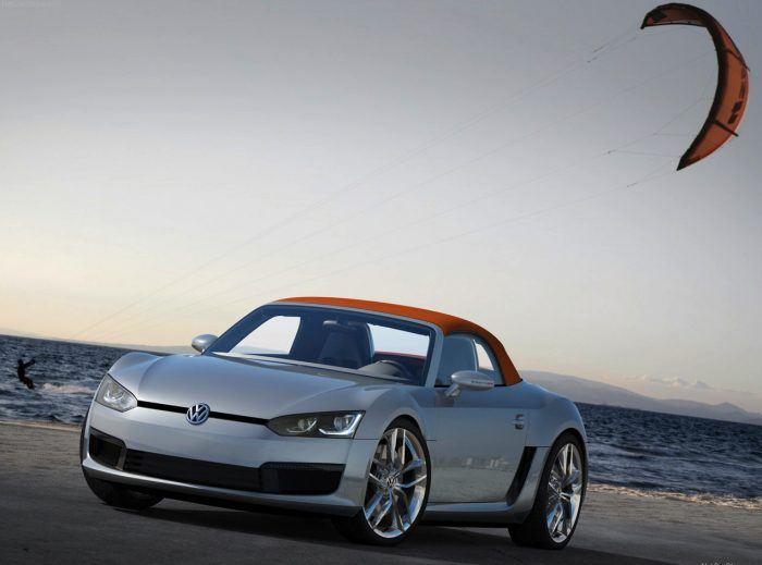 Volkswagen BlueSport Concept front