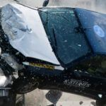SCHWEIZ AUTO CRASH STUNT