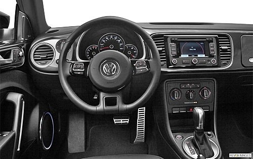 2012 VW Beetle Interior