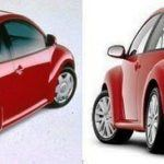 98 vs 09 VW Beetle