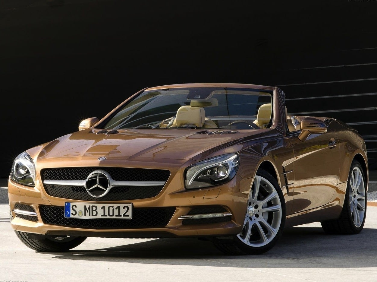Unreleased 2013 mercedes benz sl63 amg to be auctioned in for Florida mercedes benz