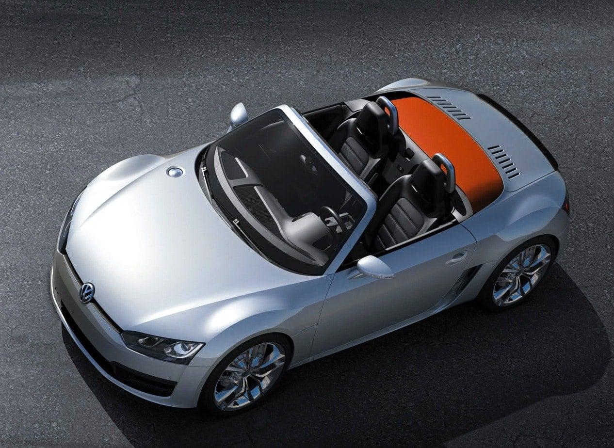 Volkswagen BlueSport Concept top