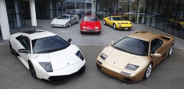 Historical Lamborghini Models