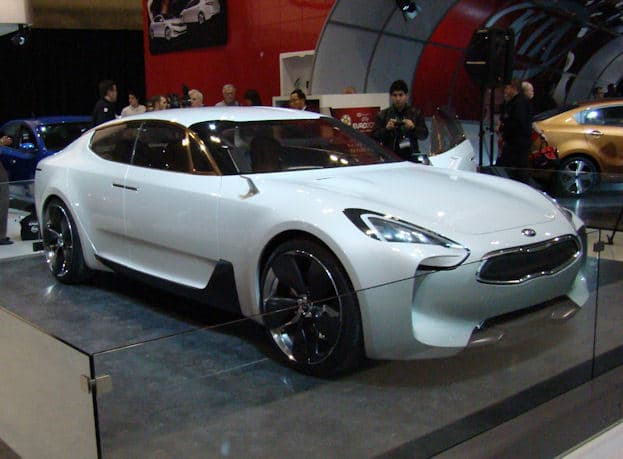 2012 Canadian International Auto Show Kia gt concept