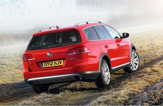Volkswagen Passat Goes Alltrack rear