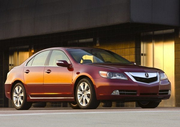 2012 acura rl replacement named rlx coming to new york. Black Bedroom Furniture Sets. Home Design Ideas