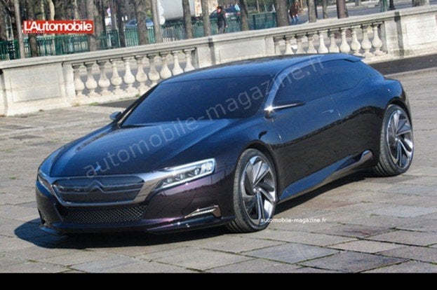 2013 Citroen Ds9 Concept Caught Undisguised In France