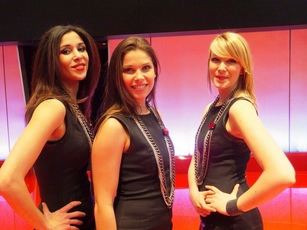 Women of 2012 Geneva Motor Show