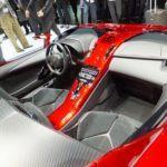 Lamborghini Aventador J inside