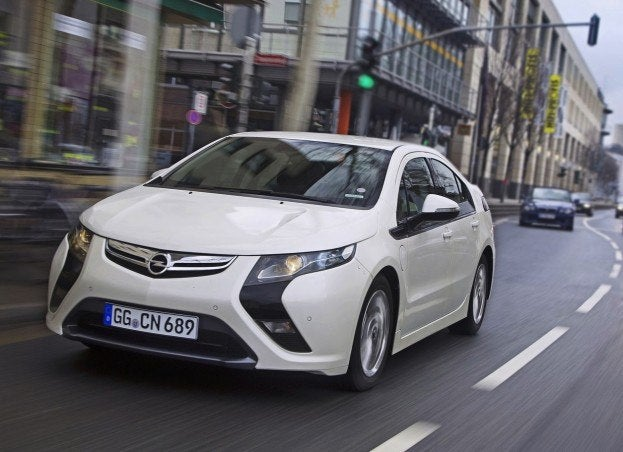 Ironic 2013 Opel Ampera A Hot Seller In Europe