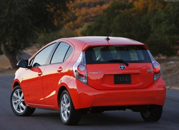 2013 toyota prius c sees price gouging amid heavy demand. Black Bedroom Furniture Sets. Home Design Ideas