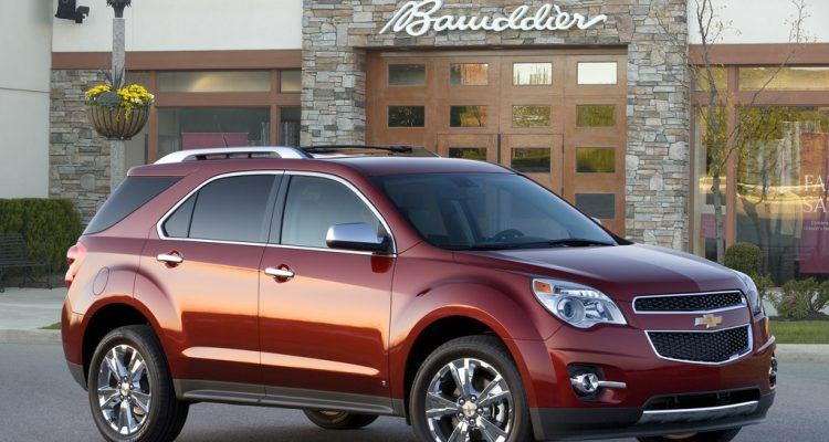 chevy equinox 2010 750x400 - Gas Price Effect: Chevrolet Equinox 4-Cylinder In Short Supply