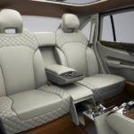 Bentley EXP 9 F rear seats