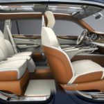 Bentley EXP 9 F  concept interior