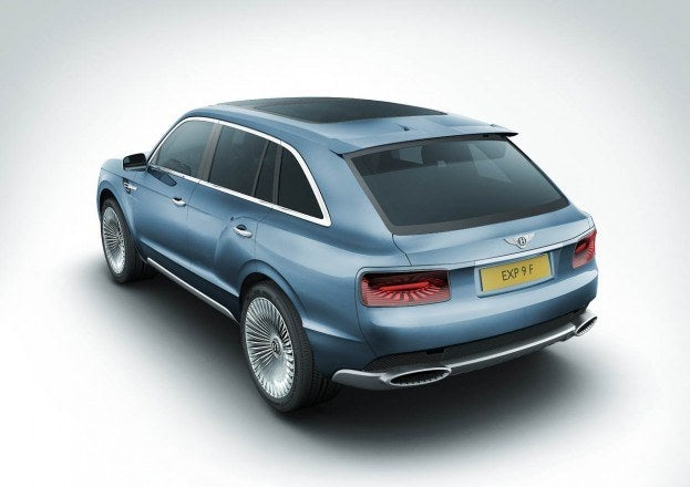 Bentley EXP 9 F SUV