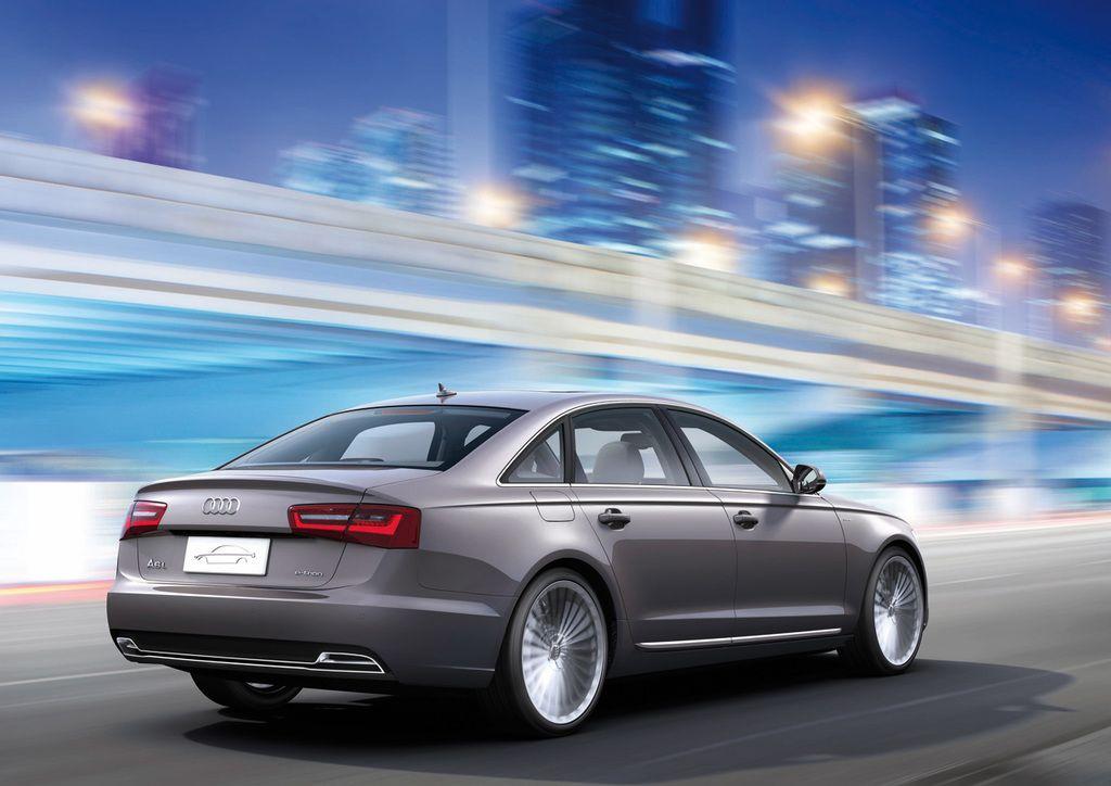 Audi A6 L E-Tron concept rear