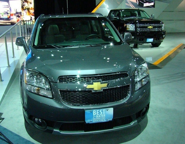 2012 Canadian International Auto Show chevrolet orlando