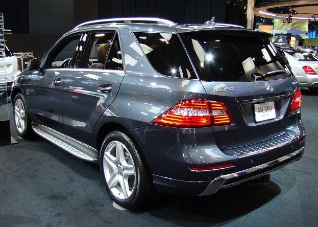 2012 Canadian International Auto Show mercedes benz ml bluetec