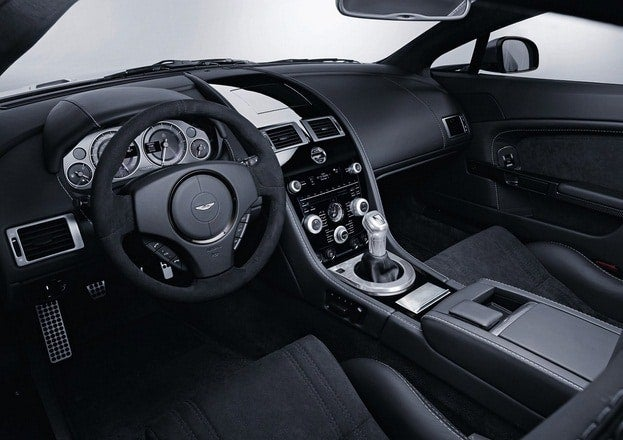 Aston Martin DBS Carbon Black interior