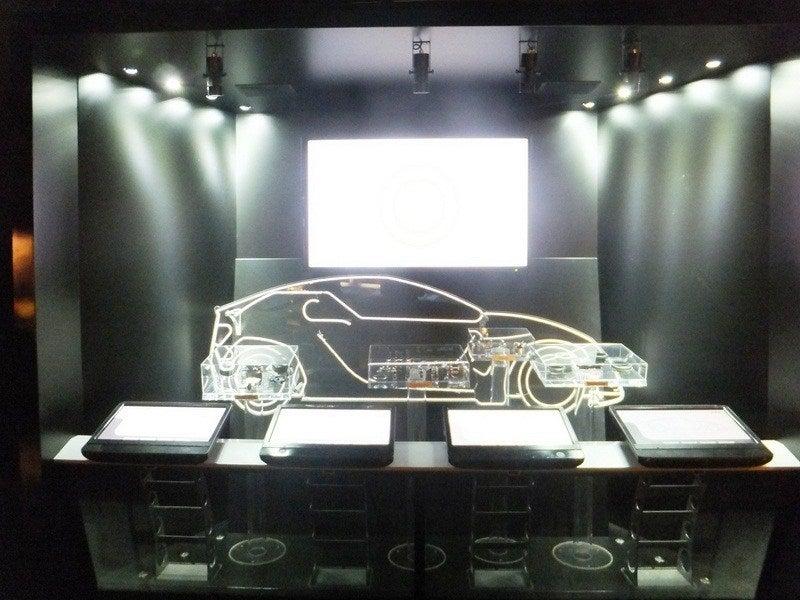 Electric Car Display