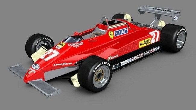 Ferrari 126 C2 Monoposto 1982
