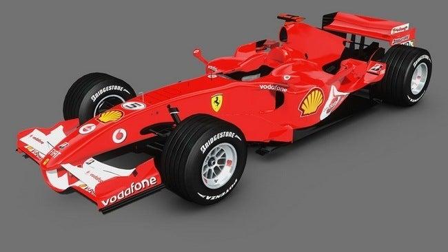 Ferrari 248 F1 Monoposto 2006