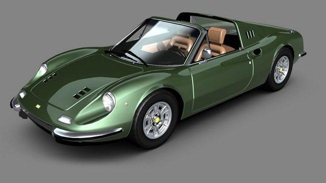 Ferrari Dino 246 GTS GT 1972