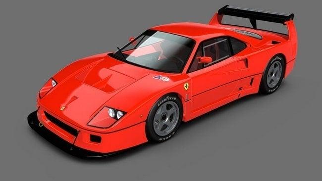 Ferrari F40 Competizione Sport 1989