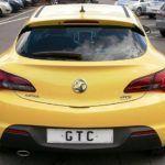 Opel GTC Astra rear