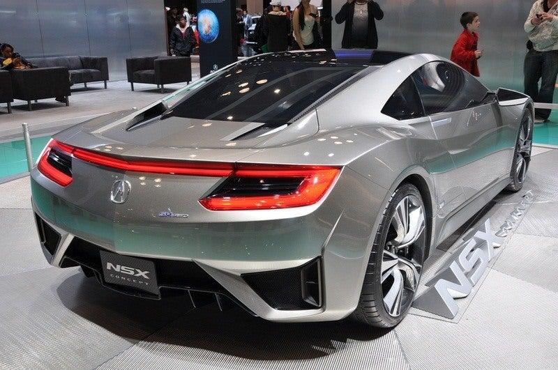 Acura/Honda NSX rear