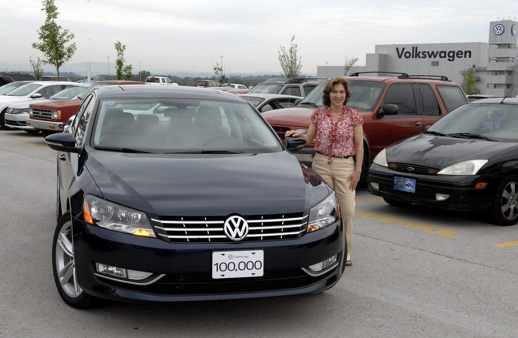 100k VW Passat Ch 1