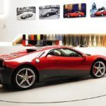 Slowhand Clapton's Fast, New Ferrari SP12 EC Ride