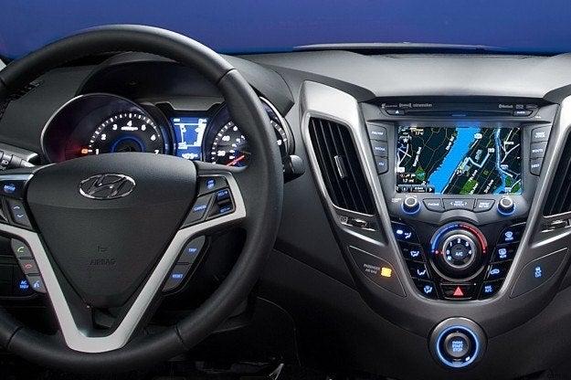 2012 Hyundai Veloster interior